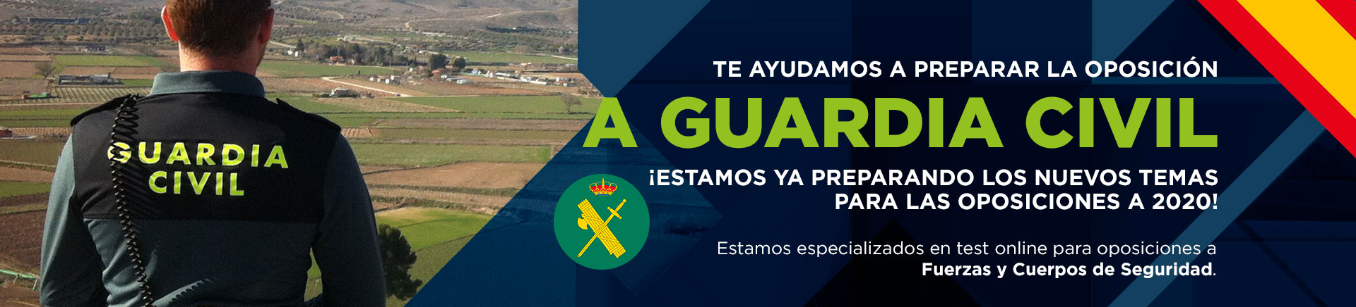 Test Online Justificados para las Oposiciones a Guardia Civil