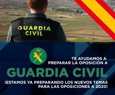 Test Online Justificados a la Oposición a Guardia Civil, escala Cabos y Guardias